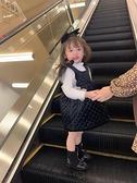 兒童禮服 加絨背心裙兒童2021新款冬裝寶寶抓周禮服公主裙小童洋氣裙子【快速出貨八折鉅惠】