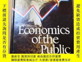 二手書博民逛書店Economics罕見of the public Sector英