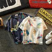 雙十二狂歡短袖t恤男純棉薄款圓領t恤【洛麗的雜貨鋪】