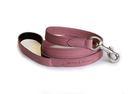 Paw Dreamer 寵物精品 ♥  粉紅色純義大利小牛皮材質繫繩 - 英國純手工製作!