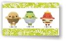 日本河童美麗諾羊毛羊毛氈材料包、可製作成手機吊飾、小裝飾(純羊毛製品)