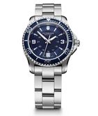 VICTORINOX 瑞士維氏 Maverick 藍水鬼腕錶 VISA-241609 女錶/34mm