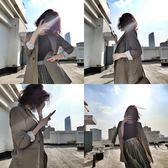小西裝外套女 2019春秋裝新款 韓版chic中長款顯瘦寬鬆休閒西服潮