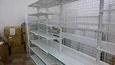 台灣製 9成新 廉售 陳列架 展示架 超市貨架 鐵架 賣場架 網架 超市架 架子 超商架 倉儲架 物料架