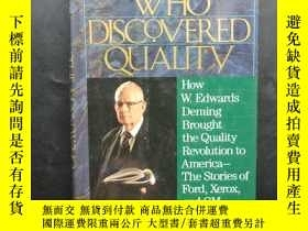 二手書博民逛書店The罕見Man Who Discovered QualityY245709 見圖 見圖