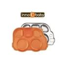 美國 Innobaby 不銹鋼兒童餐具 巴士餐盤 Din Din SMART™(橘色)[衛立兒生活館]