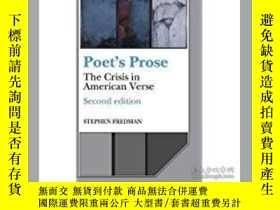 二手書博民逛書店1990年罕見詩人散文 Poet s Prose: The Cr