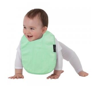 紐西蘭 Mum 2 Mum 機能型神奇口水巾圍兜-寶寶款-薄荷綠 吃飯衣 口水衣 防水衣