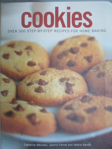 【書寶二手書T1/餐飲_ZKE】Cookies_Over 300 step-By-step Recipes For Home Baking
