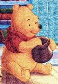 【拼圖總動員 PUZZLE STORY】維尼馬賽克 日系/Tenyo/迪士尼/小熊維尼/1000P