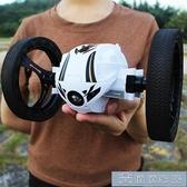 玩具車 彈跳遙控汽車充電越野車機器人特技翻滾跳跳四驅男孩賽車兒童玩具 YYJ 下標免運