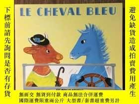 二手書博民逛書店Le罕見Cheval BleuY12800 Nathan Hale Père Castor ISBN:9782