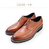 Waltz-柔軟真皮紳士鞋514049-61(卡其)