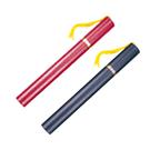 Life 徠福 NO.1290/1291 畢業證書管 有穗 A4用 紅/黑 長32x直徑4cm 圖筒