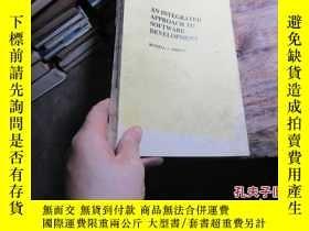 二手書博民逛書店an罕見integrated approach to softw