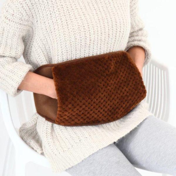 熱水袋暖宮袋防爆煖寶寶充電暖水袋電熱暖手寶暖腰寶護腰帶暖肚 米蘭街頭
