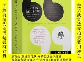 二手書博民逛書店巴黎評論作家訪談1罕見英文原版 The Paris Review Interviews 1 文學批評 英文版 進口