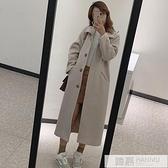 2020秋冬新款韓版修身毛呢外套中長款學生顯瘦休閒呢子大衣加厚女 夏季新品