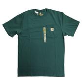 【現貨】Carhartt K87 軍綠 高磅 口袋短T 現貨 美版 男女 情侶T 基本款 素T 熱銷 K87HTG