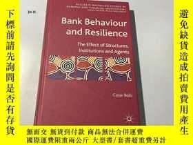 二手書博民逛書店英文原版:Bank罕見Behaviour and Resilie