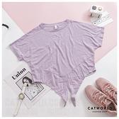 Catworld 微透膚綁帶運動上衣【11407194】‧S-XL