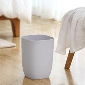 ✭慢思行✭【A026 】簡約單層垃圾桶家用無蓋客廳衛生間臥室廚房辦公室紙簍環保乾淨