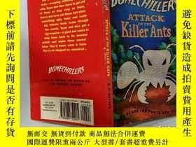 二手書博民逛書店Attack罕見of the killer ants:螞蟻殺手的攻擊Y200392