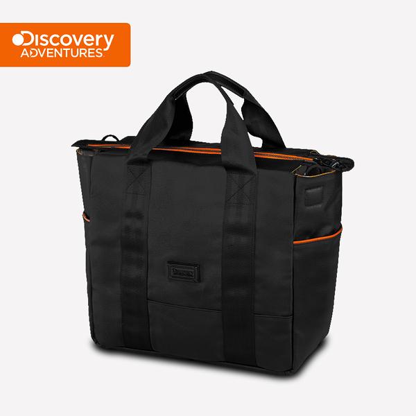 【Discovery Adventures】City橫式托特包-黑色(DA-B46205-BK)