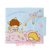 〔小禮堂〕雙子星 方型票卡收納本《淡藍.粉雲.流星》卡片夾.卡片包 4901610-59415