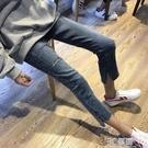 直筒牛仔褲女高腰顯瘦2020夏季新款超薄破洞九分褲彈力八分小個子 3C優購
