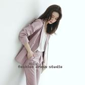依Baby 西服套裝時尚韓版秋季職業裝氣質神范西裝套裝
