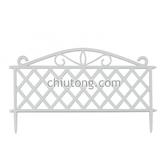 【久統生活】白斜格籬笆(3/捆)。籬笆、欄杆、圍籬、園藝配件、花園造景