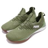 Puma 訓練鞋 Jaab XT Summer Mens 綠 白 膠底 襪套式 運動鞋 舒適緩震大底 男鞋【PUMP306】 19248202
