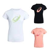 ASICS 吸濕排汗 女LOGO短袖上衣 T恤 運動上衣 2012A911 20SS【樂買網】