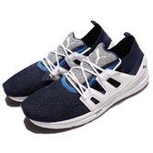 【六折特賣】Puma 慢跑鞋 B.O.G Limitless Lo evoKNIT 白 藍 低筒 襪套式 運動鞋 男鞋 女鞋【PUMP306】 36366803