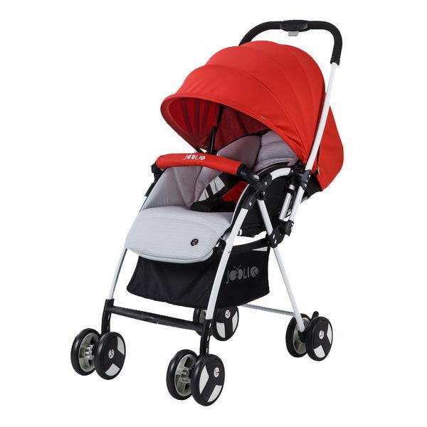 【愛吾兒】Joolio PLUME 輕量型雙向嬰兒車 - 極輕4.5KG 紅色