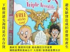 二手書博民逛書店Gargoylz罕見Triple Trouble(原版外文書)Y