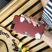 韓國夏季復古花蘋果6/6s手機殼iPhone7 Plus磨砂軟殼i8保護套女 預購商品