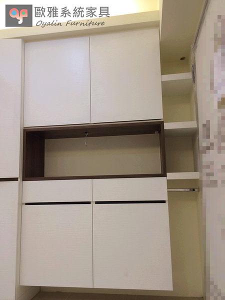 【歐雅 系統家具 】玄關櫃+鞋櫃