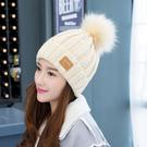 帽子女冬季毛線帽