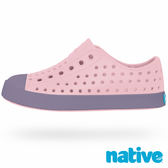native JEFFERSON CHILD 奶油頭鞋-粉紅x芋頭紫(小童)