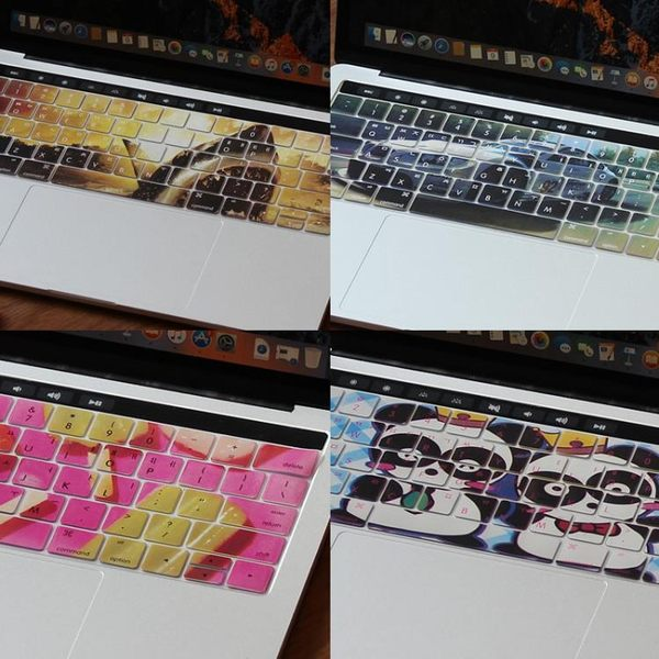 鍵盤膜保護膜韓語蘋果筆電電腦硅膠MacBook貼紙防塵罩【極簡生活館】