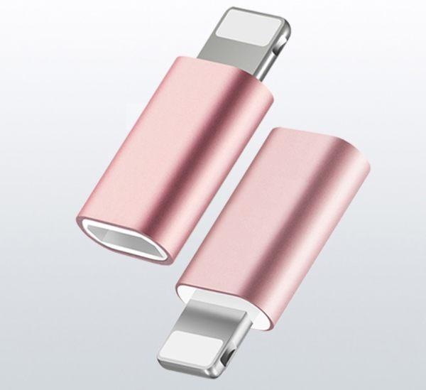 【SZ63】轉接頭 安卓轉蘋果 iPhone 8 數據線接頭 iPhone 8 plus 充電線 iPhone 6三星 NOTE5 HTC E9