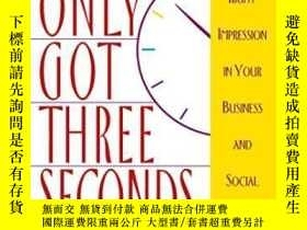 二手書博民逛書店You ve罕見Only Got Three SecondsY256260 Camille Lavington