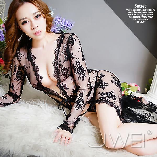 【緁希情趣精品】回眸啾咪‧深V性感蕾絲睡衣