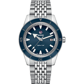 RADO 雷達 庫克船長自動機械腕錶 R32505203 藍