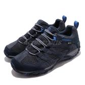 Merrell 戶外鞋 Alverstone GTX 藍 灰 男鞋 運動鞋 Gore-Tex 防水 【ACS】 ML033021