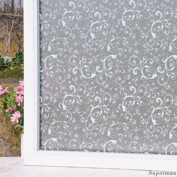 免膠靜電玻璃貼膜磨砂浴室衛生間窗戶貼紙禮物jy【店慶八折特惠一天】