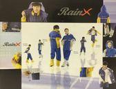 RAIN X套裝雨衣/藍黃/零碼