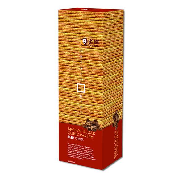 【老楊】-黑糖方塊酥 田園系列 120g
